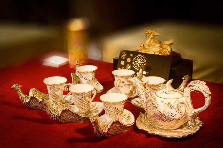 Bộ ấm trà Phượng Hoàng Bất Diệt