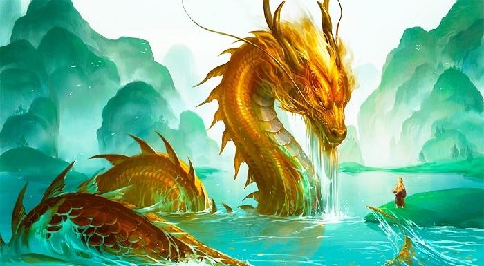 Rồng là linh vật đại diện cho sức mạnh, uy nghi