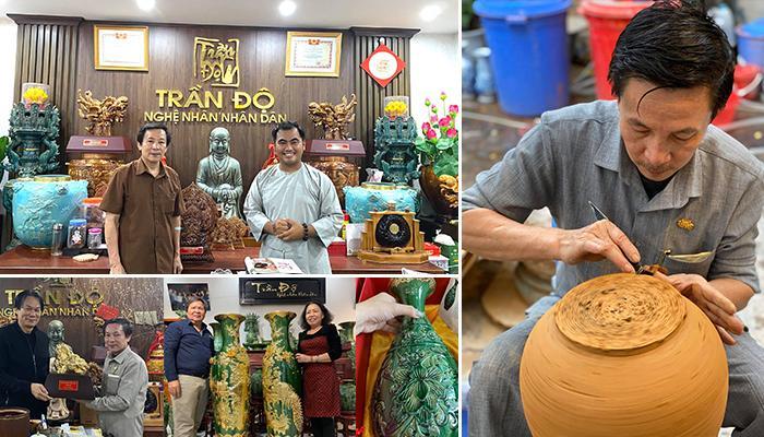 Gốm Trần Độ - Tinh hoa gốm sứ cổ làng Bát Tràng